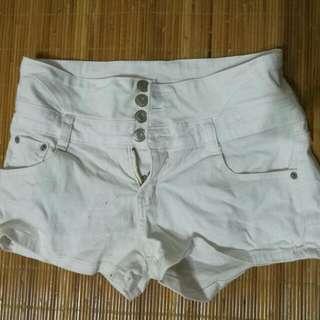 高腰短褲 L