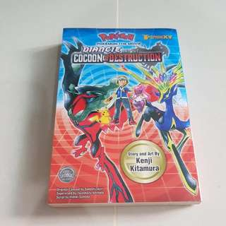 Pokemon Manga Diancie And The Cocoon Of Destruction