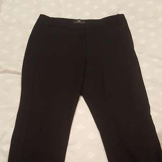 Cue Tailored Black Pants - Size 10