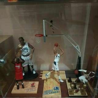 麥法蘭 NBA 公仔 剩下 O'Neal 可動iverson