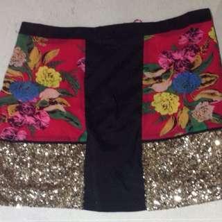 Boo Hoo Mini Skirt Size 12