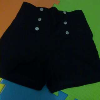 High Waist short Stretchable S M L