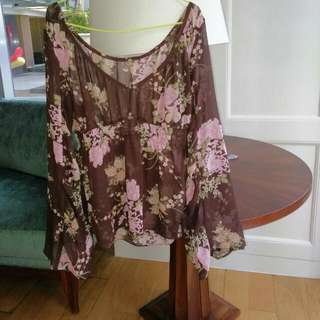 Babydoll Floral Outer