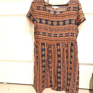 Smock Dress Size Small