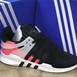 Adidas EQT Support ADV  (BLACK / WHITE / TURBO RED)