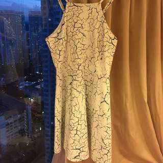 (SHOWPO) Cracked Marble Dress