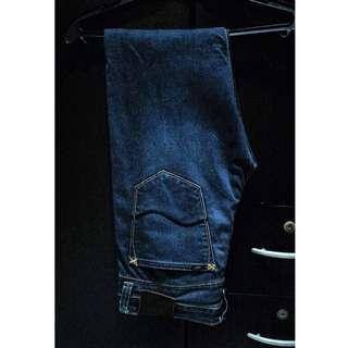 LEE Dark Blue Slim Fit Denim Pants