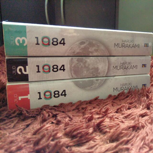 1Q84 Jilid 1,2,3 - Haruki Murakami