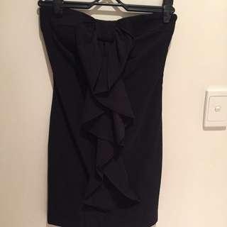 Portmans Sz 6 Off Shoulder Ruffle Dress