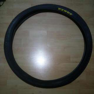 Bicycle tyre MTB 26 x 1.95 bh kenda tires