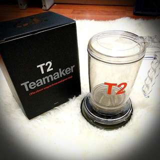 T2 Tea maker With Coaster - The Clever Way To Brew And Pour Your Tea