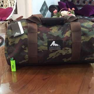 Gregory Duffle Bag Camo