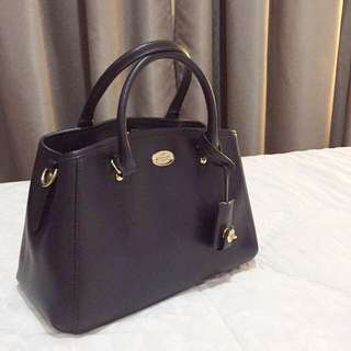 Authentic Coach Mini Margot Carryall Midnight (Preloved)