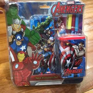 Marvel Avengers Stationary Set
