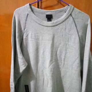 Gray Colour Sweater Casual Style