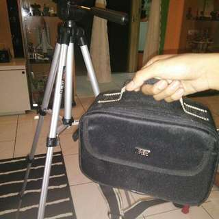 Tripod and Camera Bag