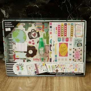 Clearance! Happy Planner Classic Set - 12 Months - Aug 2017 To Jul 2018