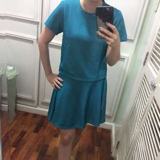 SM GTW Terno Top With Skirt Set