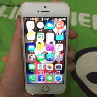 IPhone5S 32g 土豪金