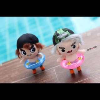 GOT7 Doll Swimming Tube