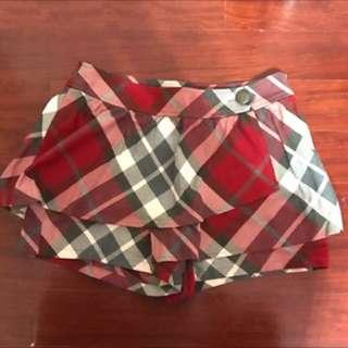 MATSUMI格子褲裙