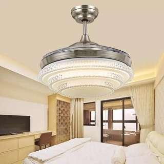 隱形吊扇燈