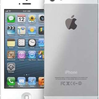 IPhone 5s Unlocked Silver