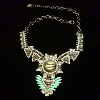 Star Bejeweled Necklace