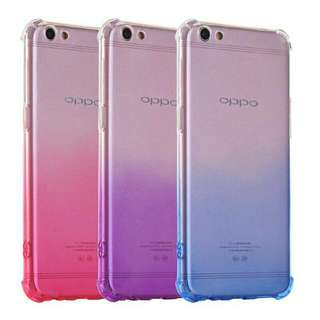 Shockproof Rainbow Gradient Case For OPPO
