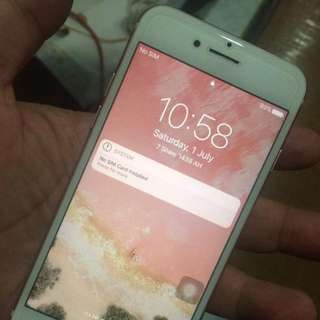 Iphone 7 32gb Singapore Set Rose Gold Warranty Sep2017