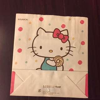 🚚 hello kitty紙袋(日本製)