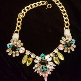Multicoloured Jewels Necklace