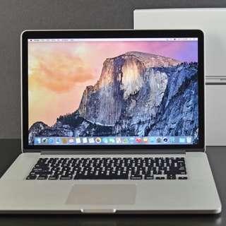 15inch MacBook Pro retina (2015)