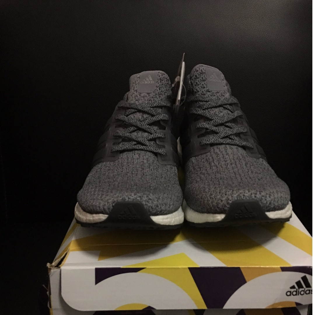 low priced 21d77 7a2c1 $280 Ultra Boost 3.0 Grey BA8849 UK10.5, Men's Fashion ...