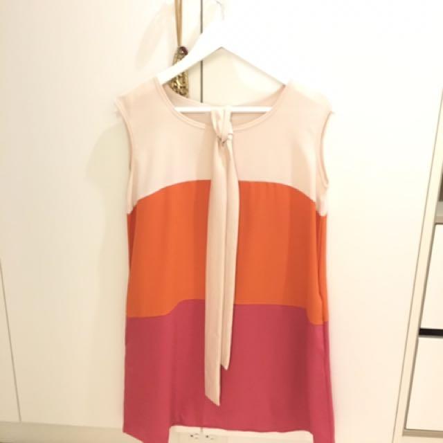名媛風雪紡洋裝
