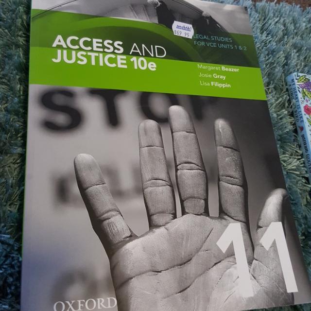 Access And Justice 10e