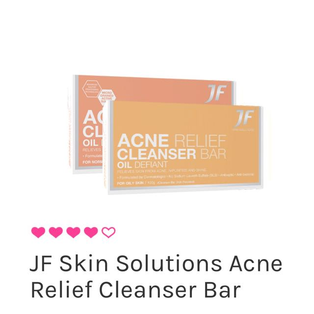 Acne Relief Cleansing Bar (Oil defiant)