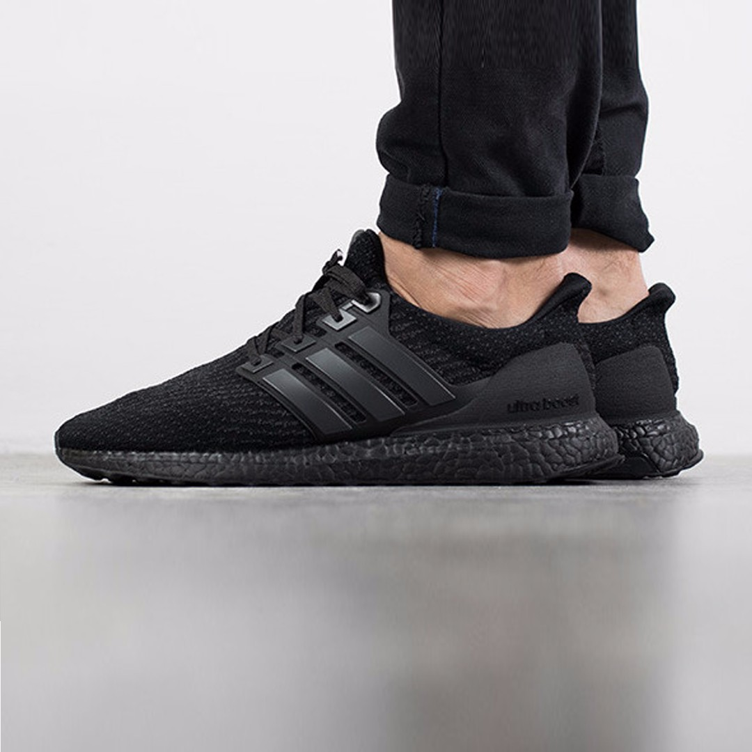 sports shoes dea81 79b02 ... cheap adidas ultra boost 3.0 triple black matte cg3038 core black core  black utility black mens