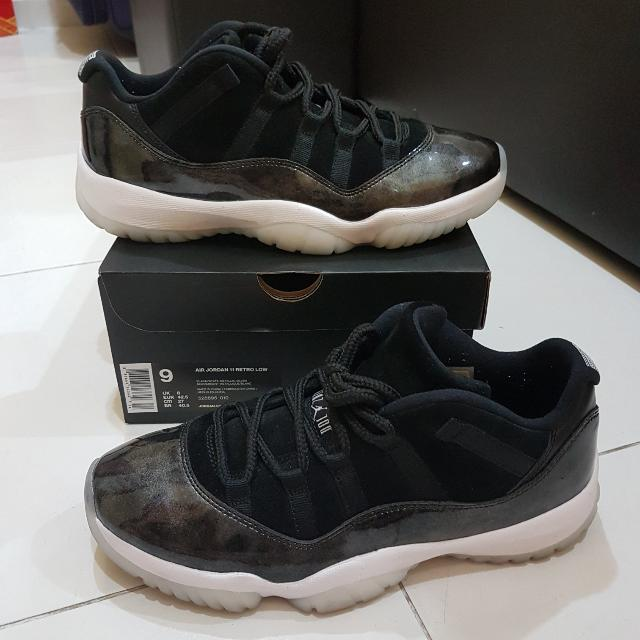 b41b3d36efeb3a Air Jordan 11 Low Baron
