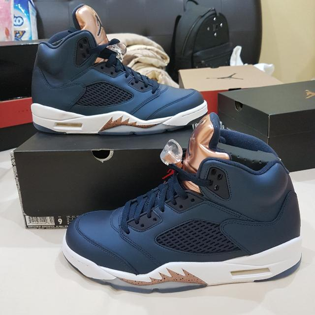 Air Jordan 5 Retro Bronze Men S