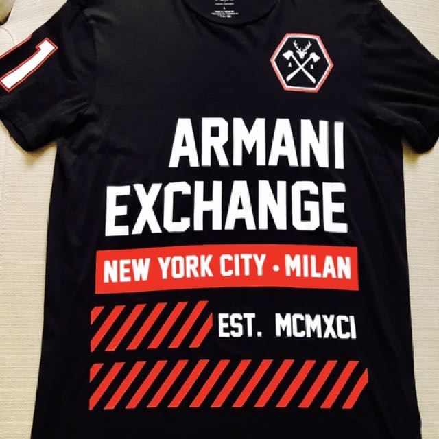 b7bbfbf5963 Armani Exchange Graphic Tee