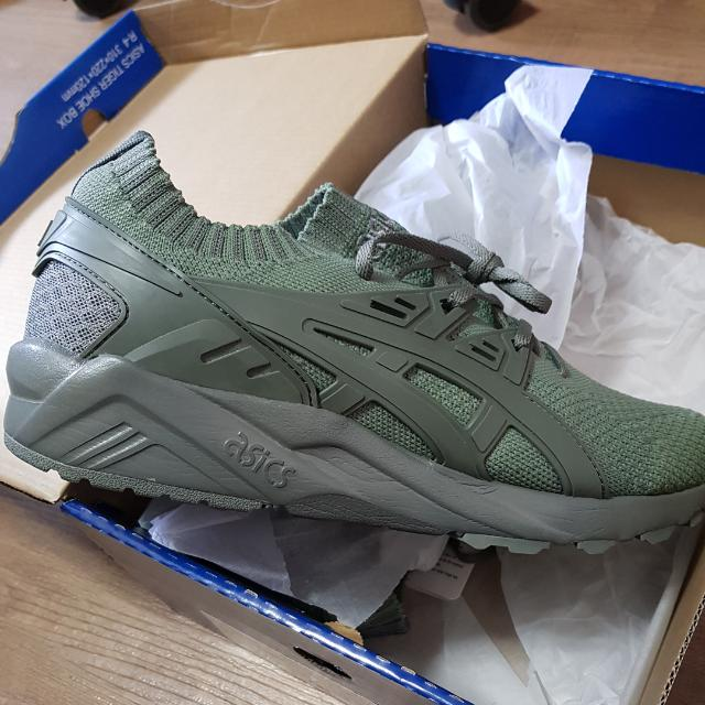 56a450b165a Asics Gel Kayano Knit ( Agave Green Olive ) US 8.5