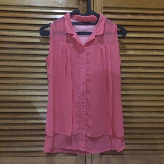 Baju Korea Bangkok Pink