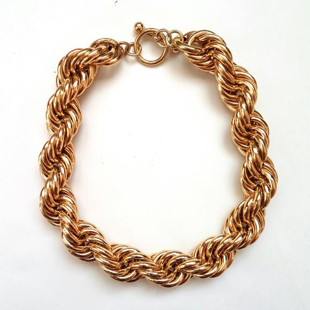 BCBG Gold Chain Necklace