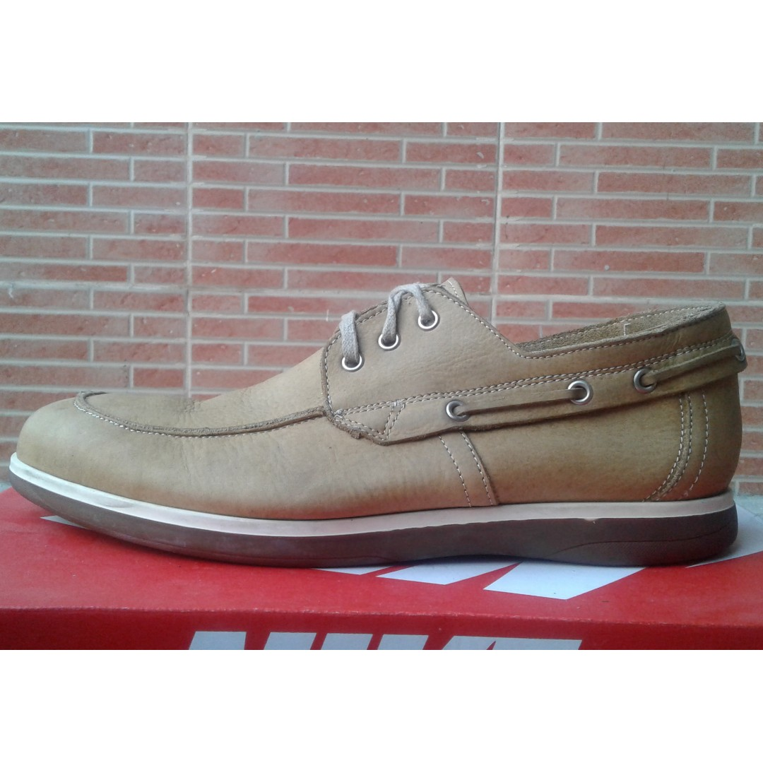 Bing Burret Light Brown Leather Shoes
