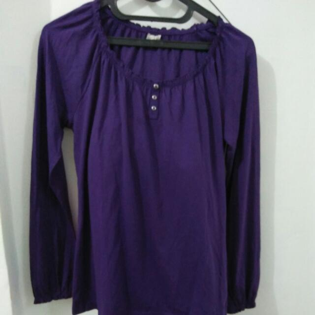 Blouse Purple