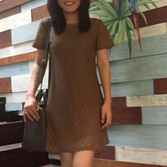 Brown Dress Premium BKK