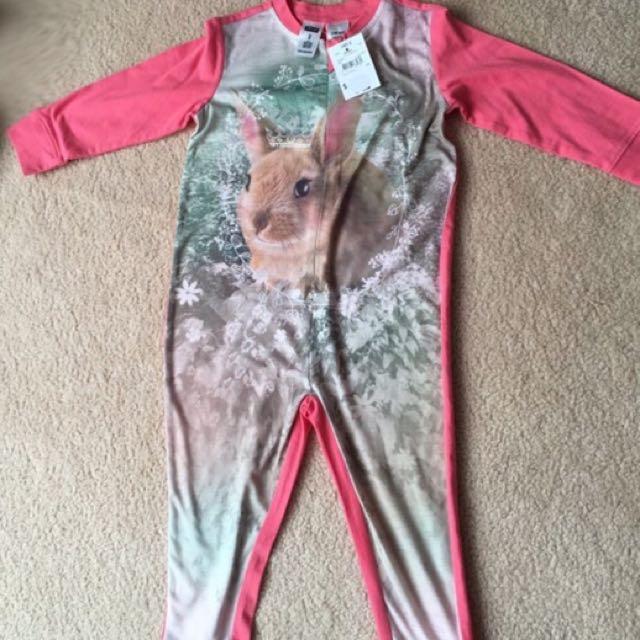 Bunny Onesie Pajamas for girls