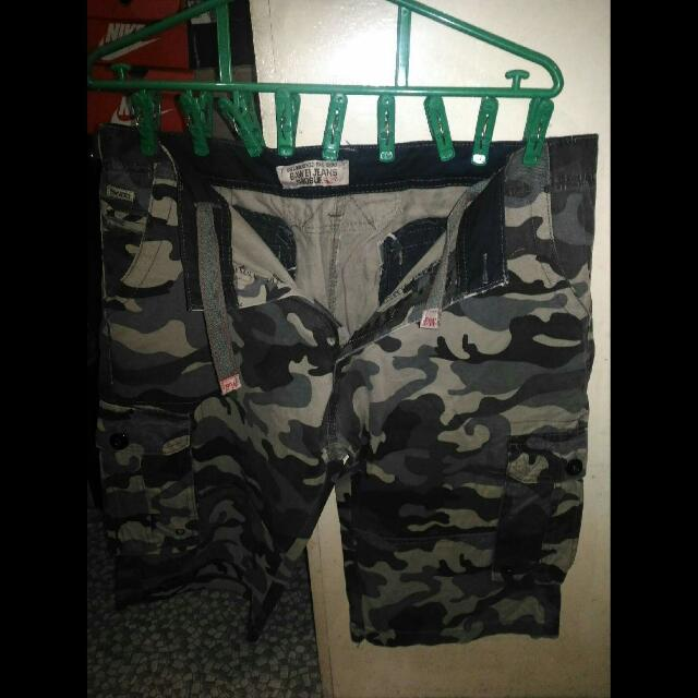 Camo 6 Pocket Shorts