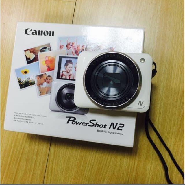 canon N2 自拍粉餅機
